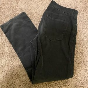 Banana republic grey corduroy pants, 36x32